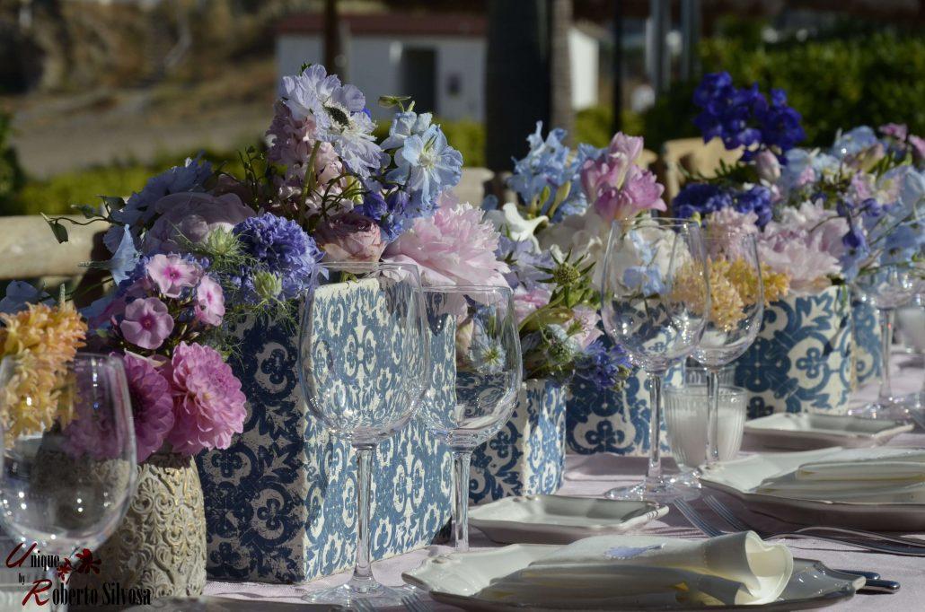decoracion floral  finca cortesía beach club