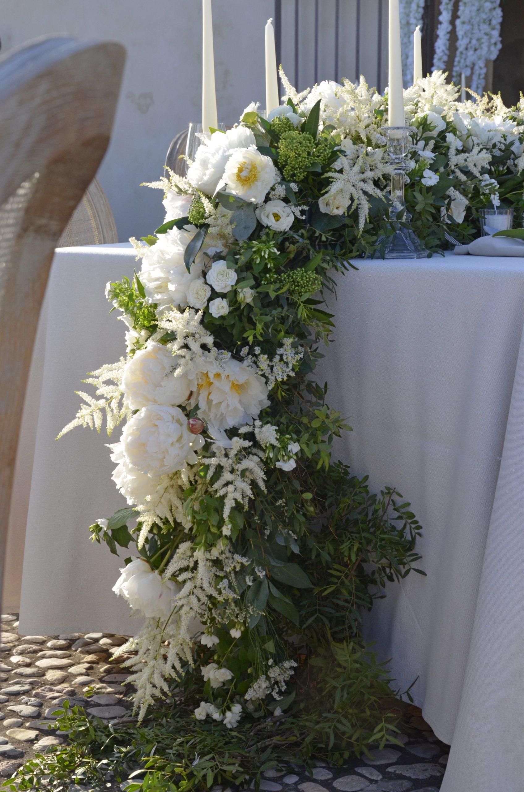 guirnaldas florales infinitas