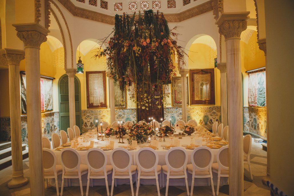 instalaciones florales eventos Sevilla