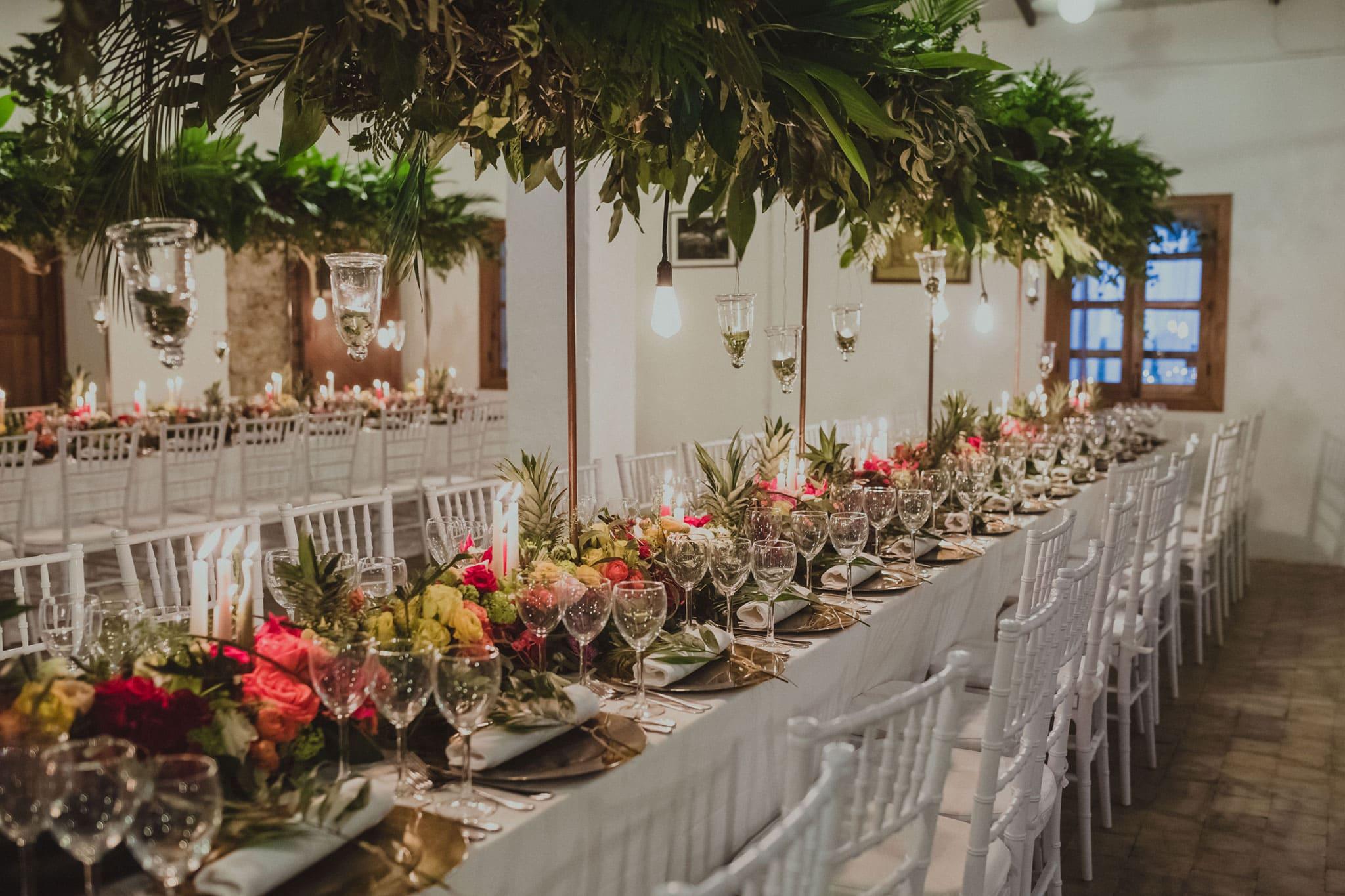 bodas tropicales decoracion