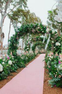decoracion floral de ensueño , ceremonias Marb