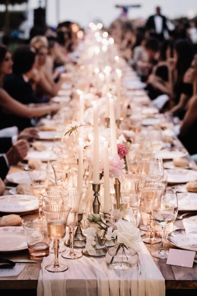 Decoración floral bodas exclusivas - Boda Morgan Lane