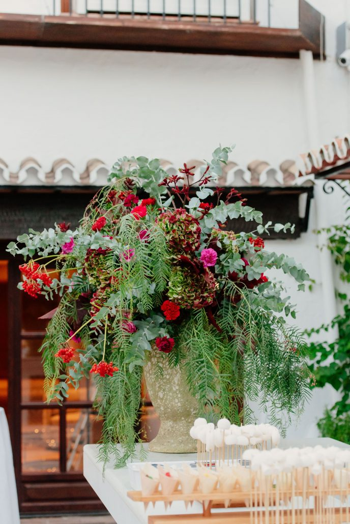 decorado floral evento Andalucia Puente Romano